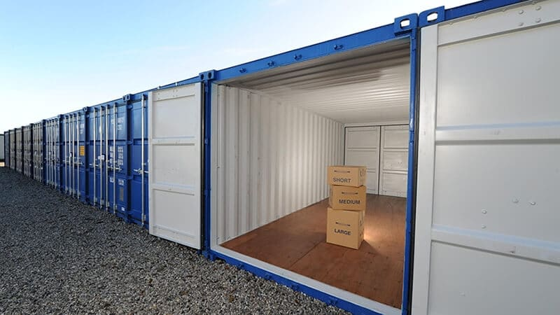 self storage unit